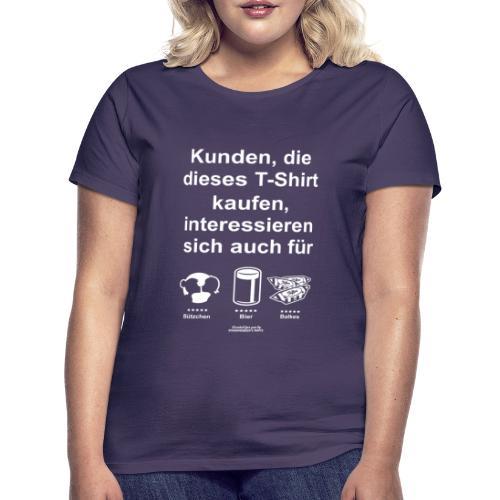 Karneval T Shirt Düsseldorf   Bier, Bützchen  & Co. - Frauen T-Shirt