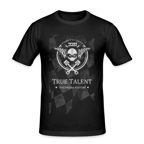 TTC Helmet Slim 2019 - Men's Slim Fit T-Shirt