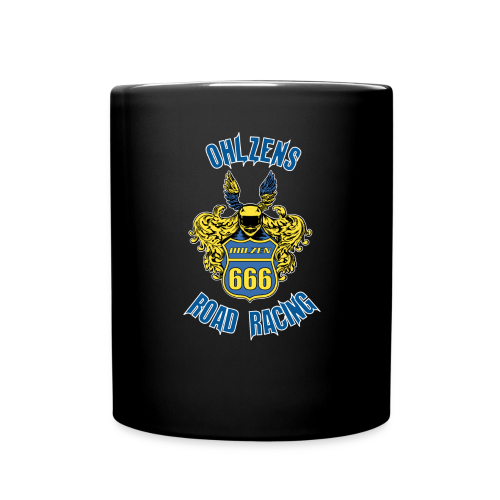 Ohlzen´s Road Racing 2019 - Black kaffekask - Full Colour Mug