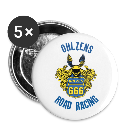 Ohlzen´s Road Racing 2019 - The Pin - Buttons large 2.2''/56 mm (5-pack)