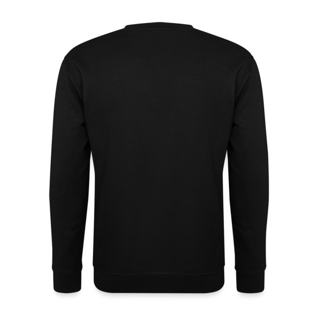 Onleesbare bandnaam mannen sweater