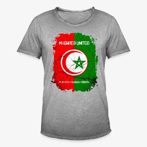 Männer Vintage T-Shirt Maghreb United - Männer Vintage T-Shirt