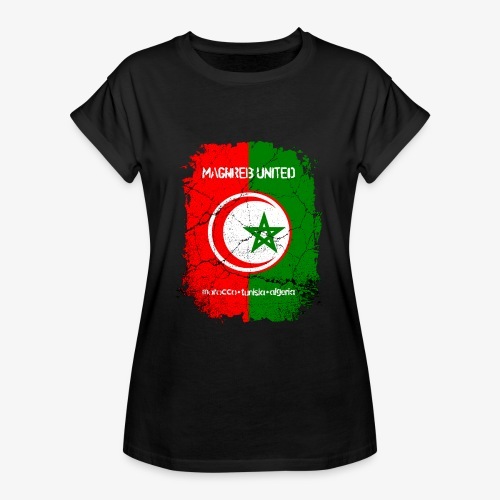 Frauen Oversize T-Shirt Maghreb United - Frauen Oversize T-Shirt