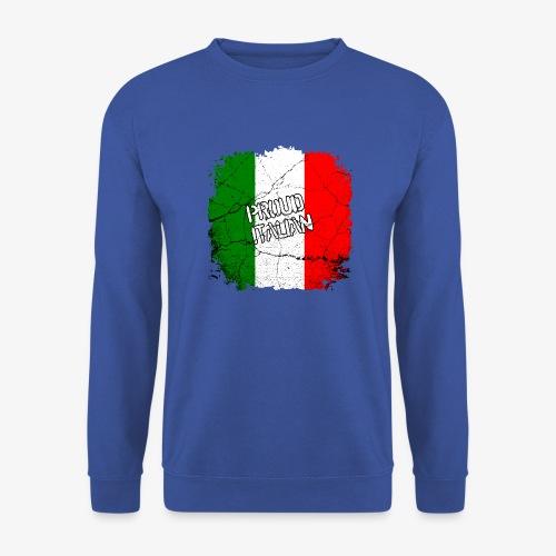 Männer Pullover Proud Italian Stolzer Italiener Italienerin - Männer Pullover