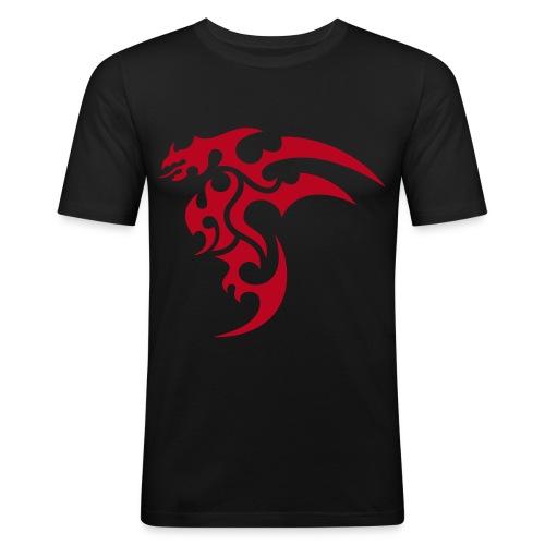 HBS - Taijutsu Kalligrafie (m) - Männer Slim Fit T-Shirt