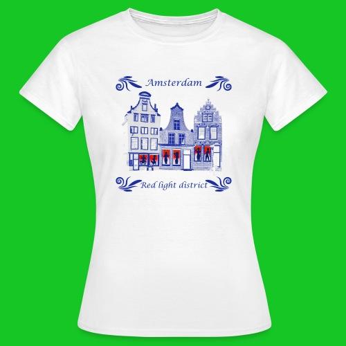 De wallen dames t-shirt - Vrouwen T-shirt