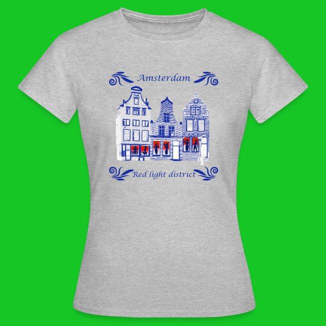 De wallen dames t-shirt