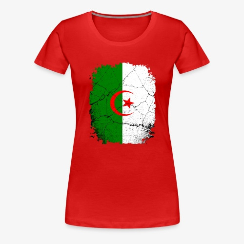 Frauen Premium T-Shirt Algerien - Frauen Premium T-Shirt