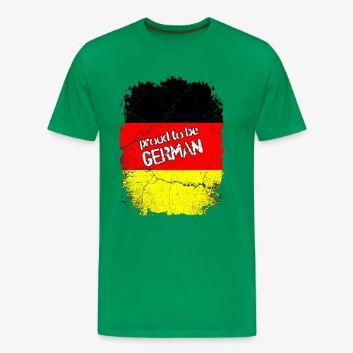 Männer Premium T-Shirt Proud to be german Stolzer Deutscher - Männer Premium T-Shirt