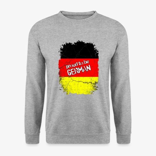 Männer Pullover Proud to be german Stolzer Deutscher - Männer Pullover