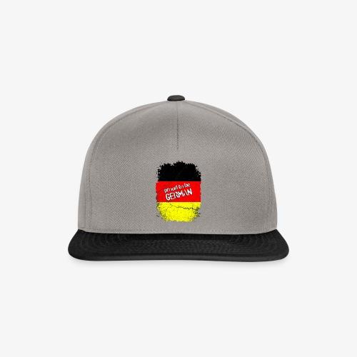 Snapback Cap Proud to be german Stolzer Deutscher - Snapback Cap