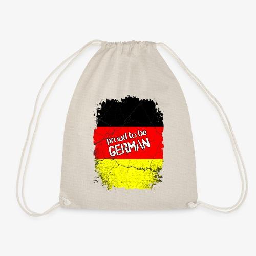Turnbeutel Proud to be german Stolzer Deutscher - Turnbeutel