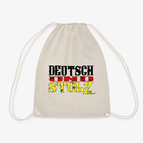 Turnbeutel Deutsch und Stolz - Turnbeutel