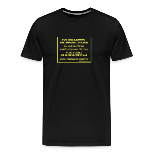 Imperial Checkpoint - Space - Men's Premium T-Shirt
