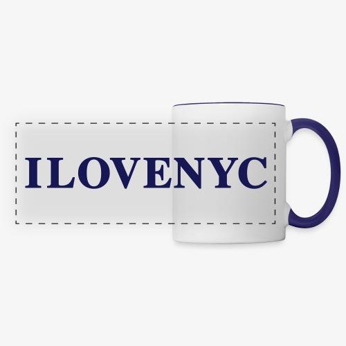 Amor y pasión por la ciudad de Nueva York - Panoramic Mug