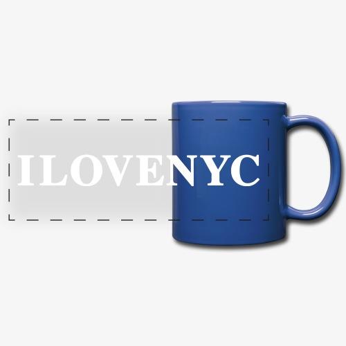 Amor y pasión por la ciudad de Nueva York - Full Color Panoramic Mug