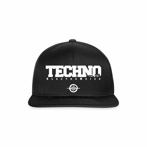 ElectroNoize Techno est 09 - Cap - Snapback Cap