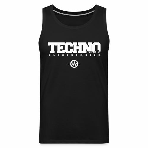 ElectroNoize Techno est 09 - Tanktop - Männer Premium Tank Top