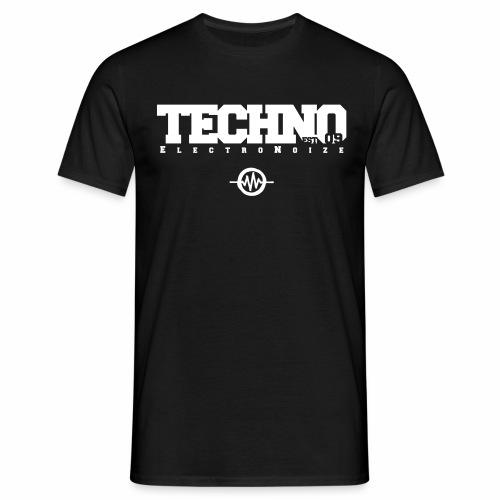 ElectroNoize Techno est 09 - T-Shirt - Männer T-Shirt