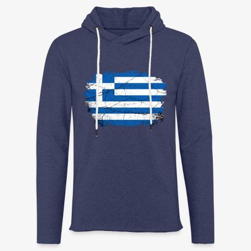 Leichtes Kapuzensweatshirt Unisex Griechenland - Leichtes Kapuzensweatshirt Unisex