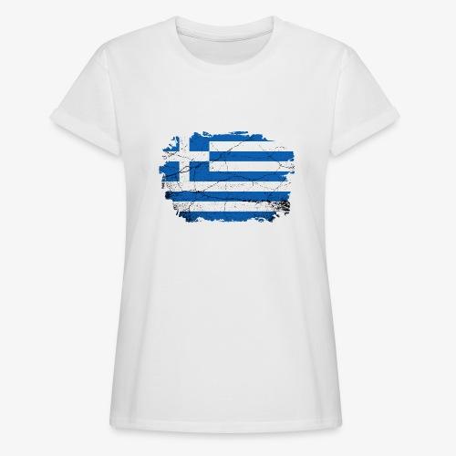 Frauen Oversize T-Shirt Griechenland - Frauen Oversize T-Shirt