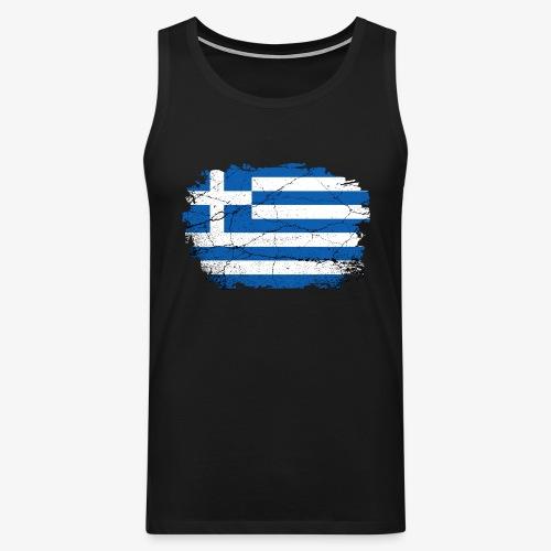 Männer Premium Tank Top Griechenland - Männer Premium Tank Top