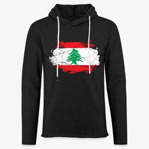 Leichtes Kapuzensweatshirt Unisex Libanon - Leichtes Kapuzensweatshirt Unisex