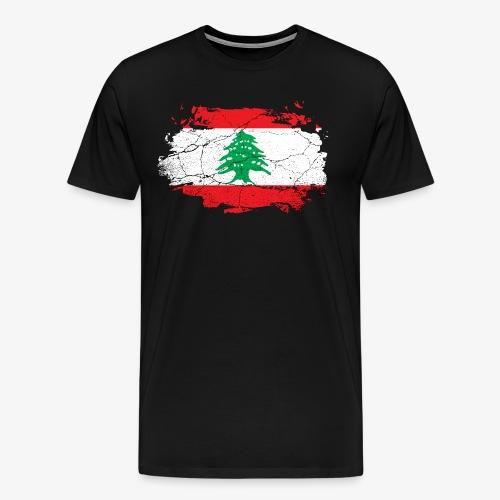Männer Premium T-Shirt Libanon - Männer Premium T-Shirt