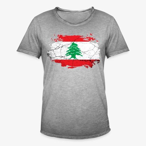 Männer Vintage T-Shirt Libanon - Männer Vintage T-Shirt