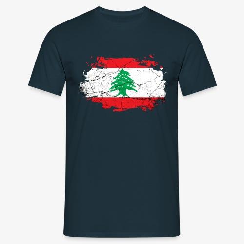 Männer T-Shirt Libanon - Männer T-Shirt