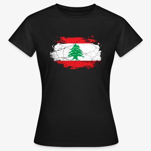 Frauen T-Shirt Libanon - Frauen T-Shirt