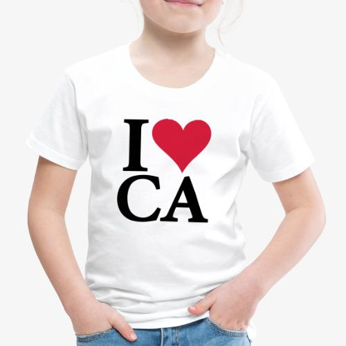 Amo California - Kids' Premium T-Shirt