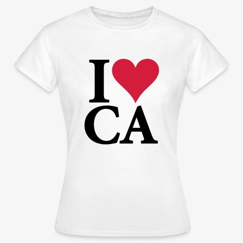 Amo California - Women's T-Shirt