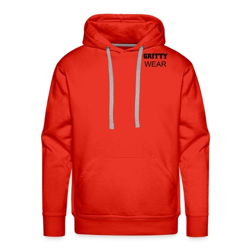 I F*%K With STOCK (Red) - Men's Premium Hoodie
