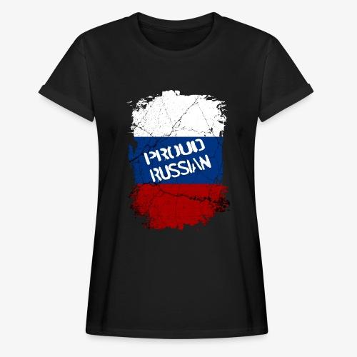Frauen Oversize T-Shirt proud russian Stolzer Russe Stolze russin - Frauen Oversize T-Shirt