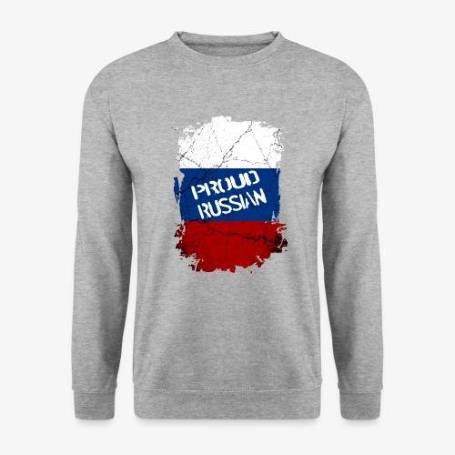 Männer Pullover proud russian Stolzer Russe Stolze russin - Männer Pullover