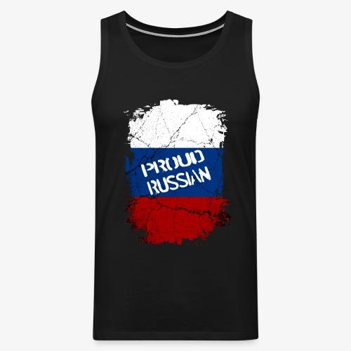 Männer Premium Tank Top proud russian Stolzer Russe Stolze russin - Männer Premium Tank Top