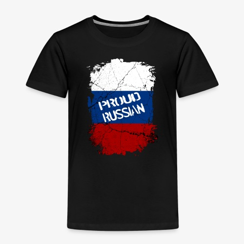 Kinder Premium T-Shirt proud russian Stolzer Russe Stolze russin - Kinder Premium T-Shirt