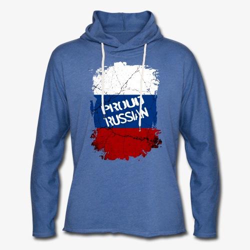 Leichtes Kapuzensweatshirt Unisex proud russian Stolzer Russe Stolze russin - Leichtes Kapuzensweatshirt Unisex