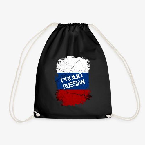 Turnbeutel proud russian Stolzer Russe Stolze russin - Turnbeutel