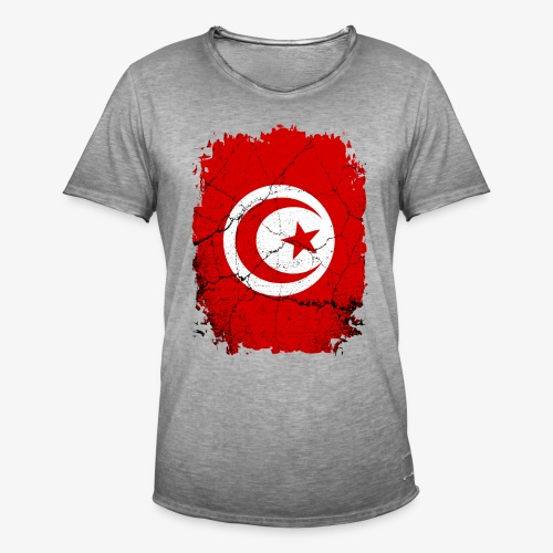 Männer Vintage T-Shirt Tunesien - Männer Vintage T-Shirt