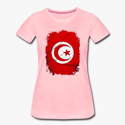 Frauen Premium T-Shirt Tunesien - Frauen Premium T-Shirt