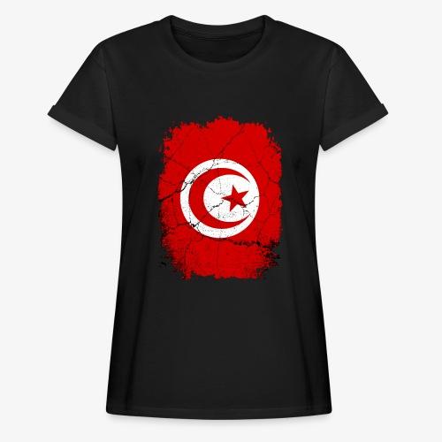 Frauen Oversize T-Shirt Tunesien - Frauen Oversize T-Shirt