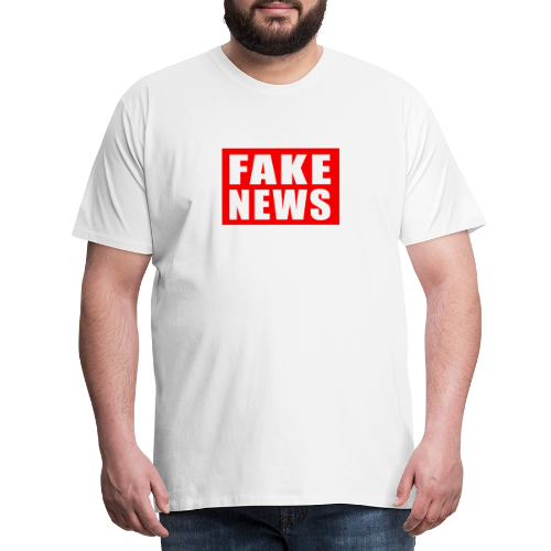 Fake News Mens Tee - Men's Premium T-Shirt