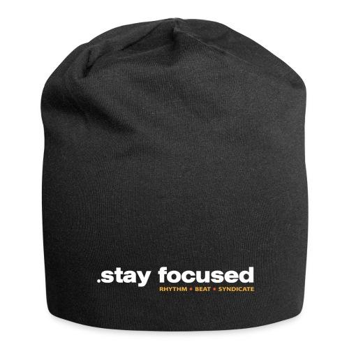 .stay focused - Beanie - Jersey-Beanie