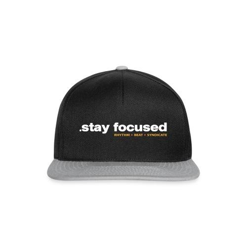 .stay focused - Snapback Cap - Snapback Cap