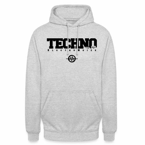 ElectroNoize Techno est 09 - Hoodie - Unisex Hoodie