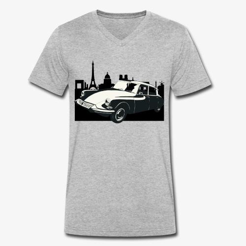 DS Paris - Mannen bio T-shirt met V-hals van Stanley & Stella