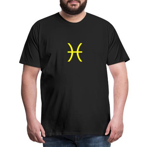 Sternzeichen Fisch - Männer Premium T-Shirt