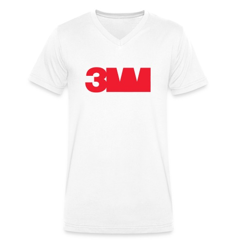 3M - Männer Bio-T-Shirt mit V-Ausschnitt von Stanley & Stella